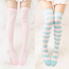 Buy Mori Girl Clothes Stockings on Mori Girl の森ガール.Mori Japanese Wide&Fine Striped Cos Stockings Knee-High Mg282 Applicable to Many Occasions - Casual, Wear to Work, Home, Sports, etc.They are soft and elastic. They are knitted with color-block patterns. Our odor and moisture resistant fabric is to make feet stay dry and fresh.