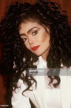 Singer La Toya Jackson presents her book 'Jackson Story' in Paris, France, on December 31, 1991.