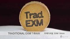 트레디셔널 당구 큐 팁 EXM / TRAD Billiards cue tips EXM