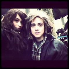 Leven Rambin as Clarisse and Douglas Smith as Tyson