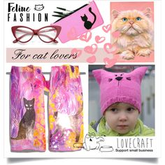 Feline fashion. All for cat lovers. A fashion look from October 2017 by canisartstudio featuring ETUÍ i Pussycat #cat #feline #catlovers