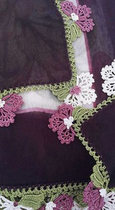 30 Floral Beaded Crochet Needlework Patterns that Break the Record – Crochet – New Hobby I needed to show you … Bead Crochet, Crochet Motif, Crochet Lace, Crochet Stitches, Crochet Earrings, Crochet Boarders, Crochet Flower Patterns, Crochet Flowers, Embroidery Patterns
