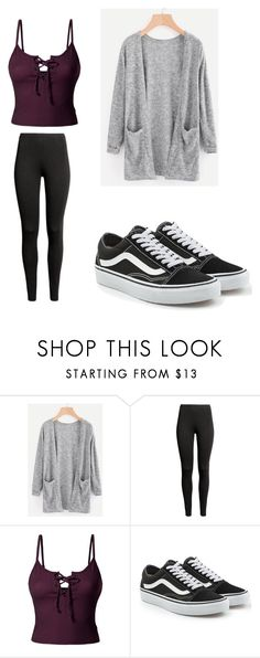 """Untitled #20"" by hailysharp on Polyvore featuring LE3NO and Vans"