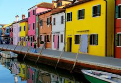 Burano in Venice, Italy   17 Impossibly Colorful Cities You'll Want To Visit Immediately