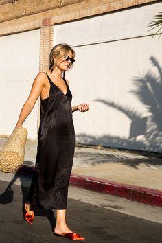 #streetstyle #slip #dress