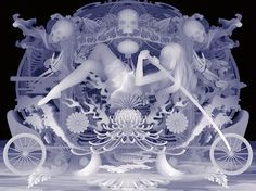 Kazuki Takamatsu's Ghostly Paintings Get 'Decoration Armament'