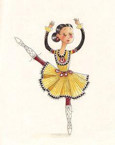 illustration dance dancer ballerina ballet irish dancing