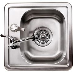 Cal Flame Stainless Steel Sink With Faucet And Soap Dispenser : BBQ Guys