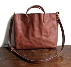 Good and co bag - brown, 100% leather