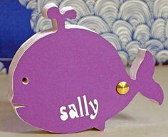 balena blocco note sagomato