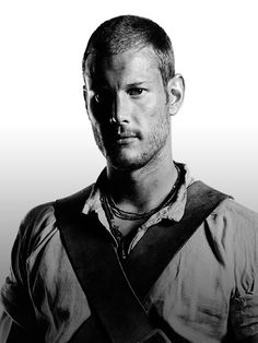Tom Hopper as Billy Bones on Black Sails Image from http://www.starz.com/PublishingImages/Originals/Black%20Sails/Cast/Season%202/billy_bones_DONOTUSEFORLAUNCH.jpg.