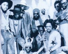 Parliament was a funk band most prominent during the 1970s
