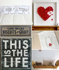 I love you like Biscuits and Gravy. - sounds like something my hubby would say