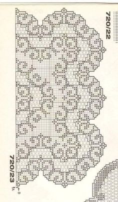 Ivana Heklanje 2180 – Heklanje | Šeme za heklanje Crochet Tablecloth Pattern, Crochet Doily Diagram, Filet Crochet Charts, Crochet Lace Edging, Crochet Doily Patterns, Irish Crochet, Crochet Doilies, Stitch Patterns, Cross Stitch Fruit