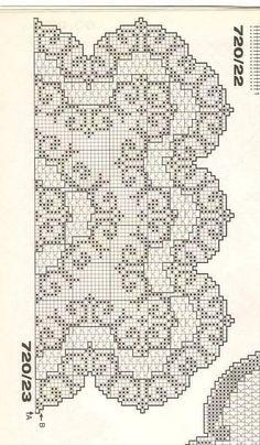 Ivana Heklanje 2180 – Heklanje | Šeme za heklanje Crochet Tablecloth Pattern, Crochet Doily Diagram, Filet Crochet Charts, Crochet Lace Edging, Crochet Doily Patterns, Irish Crochet, Crochet Doilies, Stitch Patterns, Embroidery Motifs
