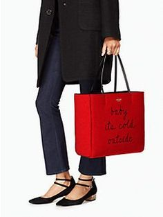 post drive baby its cold hallie by kate spade new york
