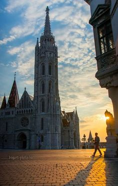 Matthias church, Buda Castle #Budapest #Hungary #Europe #travel