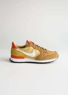 6cc9d9a9664 Front image of Stories nike internationalist in orange Nike  Internationalist, Shoe Brands, Frocks,