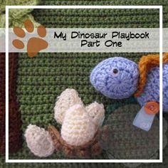 Creative Crochet Workshop: My Dinosaur Crochet Playbook Part #1