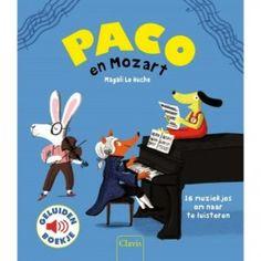 uitgeverij clavis geluidenboek paco en mozart