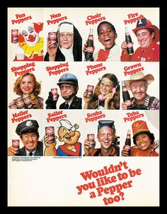 This month we're quenching our thirsts as we share 10 of our favourite Soda Pop ads from the past. Dr. Pepper, Retro Ads, Vintage Advertisements, Vintage Ads, Retro Food, Vintage Food, Vintage Recipes, Vintage Signs, Texas