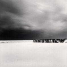 Michael Kenna, Fifty Four Sticks, Calais France, 1998