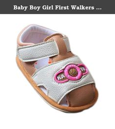 19e3446bcd6 Baby Boy Girl First Walkers Soft Sole Toddler Shoes (11cm