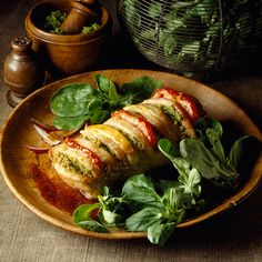 Saddle of Veal Prince Orloff  Must try to make this!