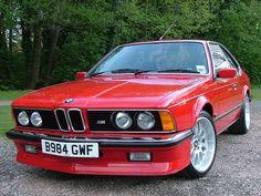 Bmw 635csi Red
