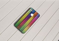 Colorful Chameleon Wood Texture iPhone 5 Case by caseboy on Etsy, $15.79