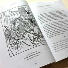 Spead featuring illustration by D. J. Munro - Sleeping Beauty and Other Tales of Slumbering Princess - Origins of Fairy Tales from Around the World