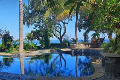A small resort, popular with the tourists for its services. The green landscape creates a serene ambience at the Suites Hotel Bali Royal in Tanjung Benoa Beach, Bali. This hotel offers a swimming pool, a restaurant and a bar.   #beach #holiday #beautiful #bali #indonesia  http://thebeachfrontclub.com/beach-hotel/asia/indonesia/bali/tanjung-benoa-1/suites-hotel-bali-royal/