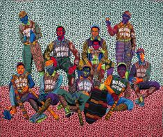 The year 2020 was shaping up to be a watershed moment in the career of New Jersey-born Brooklyn-based quilt artist Bisa Butler. Brooklyn, Famous African Americans, Romare Bearden, Cradle Of Civilization, American Quilt, Museum Exhibition, Textile Artists, Museum Of Fine Arts, Art Object