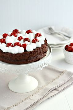 flourless choc cake
