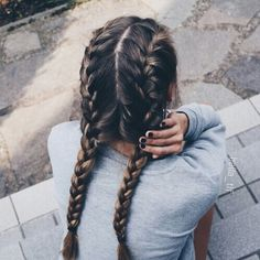 French Braids Picture french braids flettet hr fletter i hr og franske fletter French Braids. Here is French Braids Picture for you. French Braids braid 11 half up french braids. French Braids cornrows french braids rastas in hes. Hair Inspo, Hair Inspiration, Corte Y Color, About Hair, Hair Day, Hair Looks, Her Hair, Cool Hairstyles, Summer Hairstyles