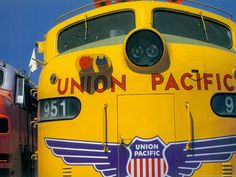 Union Pacific EMD locomotive