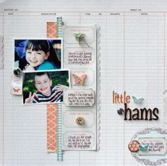 TERESA COLLINS DESIGN TEAM: Little Hams Layout by Stacey Michaud