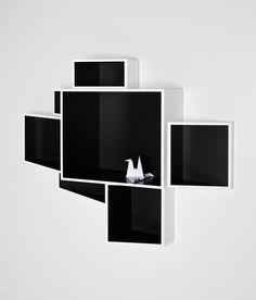 SheLLf medium bookcase designed by Ka-Lai Chan for Kristalia Bookcase Storage, Bookshelves, Stand Design, Design Shop, Cupboard Wardrobe, Modern Bookcase, Innovation Design, Office Furniture, Design Projects