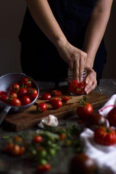 Conservare i pomodori in vaso