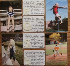 this is a great idea. 1 photo + 1 card with  details and favorites for each kid