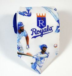 Kansas City Royals Baseball Team Tie. A must-have for the Royals fan!
