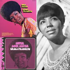 """Erma Franklin (1938-2002) was Aretha Franklin's oldest sister, & is best known for her original version of """"Piece of My Heart"""" (1967). Hear it in my board, """"My Music: The Girls""""."""