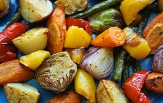 Slow cooker roasted veggies