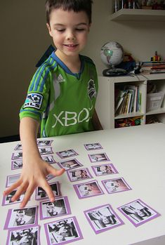 How fun is this New Year's Eve photo memory game? We love how it helps kids remember their favorite moments of the past year.