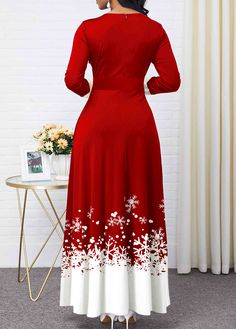 Dresses For Women Long Sleeve Maxi, Maxi Dress With Sleeves, Latest African Fashion Dresses, Women's Fashion Dresses, Ankara Dress Styles, Maxi Gowns, Necklines For Dresses, Boho Dress, Blouse Designs