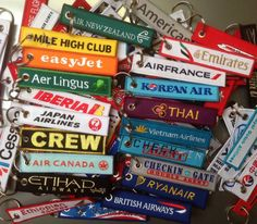 Key tags of the aviation world #travel #fun #keytags #evinta