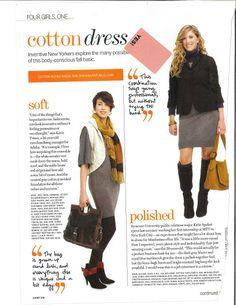Winter Outfit ideas. Grey dress, blazer
