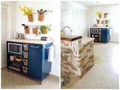 GroBartig Ilot De Cuisine Avec La Table BJÖRKUDDEN | дом. | Pinterest | Ikea Hack And  Future