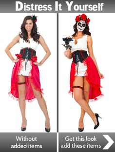how to do day of the dead make up click to find out more awesome halloween costumeshalloween - Mystical Halloween Costumes