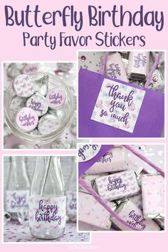 Create a memorable party with our Purple Butterfly Wishes stickers, favors, and decorations for a girl's birthday party, baby shower, or bridal shower. #butterfly #birthday #happybirthday Butterfly Birthday Party, Girl Birthday, Happy Birthday, Bridal Shower, Baby Shower, Happy Wishes, Thank You Stickers, Purple Butterfly, Favors
